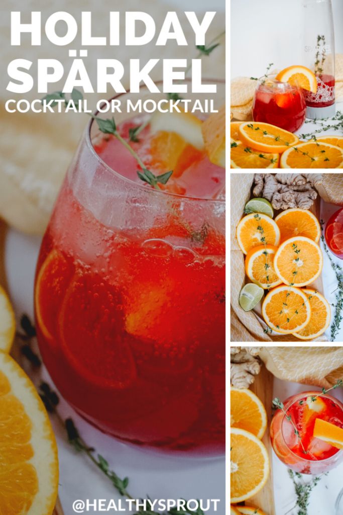 A Pinterest photo featuring multiple photos of the cocktail.